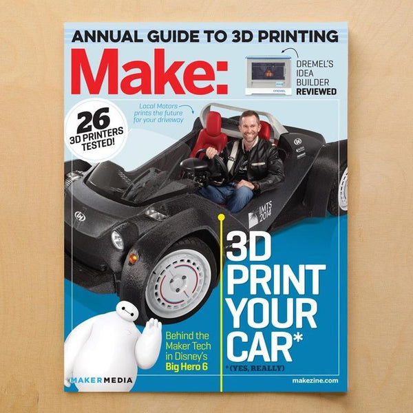 Make: Magazine, Volume 42 - Print