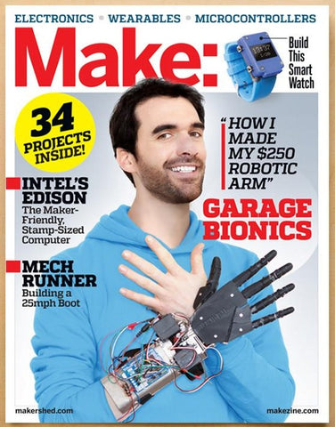 Make: magazine, V43 - Electronics & Wearables