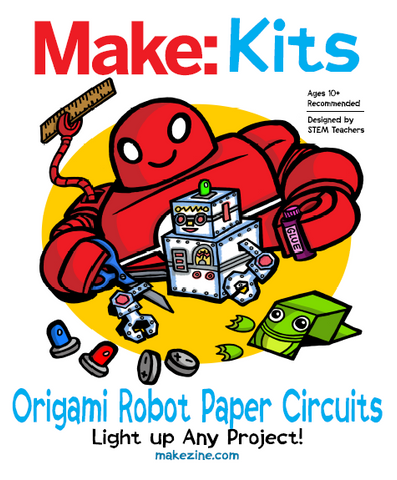 Make: Origami Paper Circuits Kit