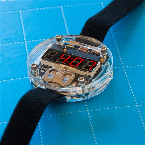 Solder: Time Watch Kit