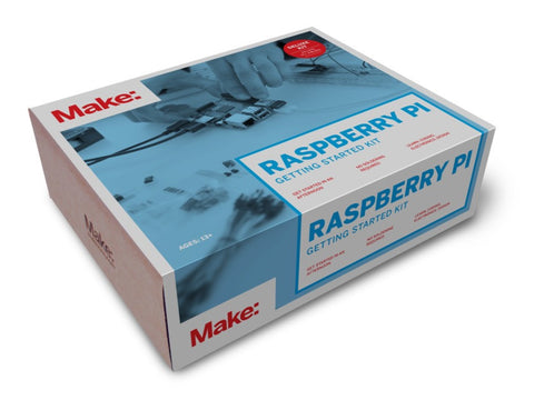 Make: Getting Started with Raspberry Pi 2 - Deluxe Kit