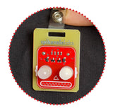 Robot Blinky Badge 2-Pack - Beginner Soldering Kit title=