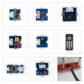 Sensor Kit 1 (for use with GoPiGo, BrickPi or GrovePi)