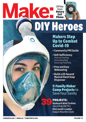 Make: Magazine, Volume 73 - PDF