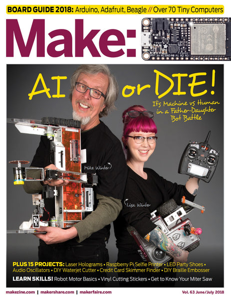 Make: Magazine, Volume 63 (PDF)