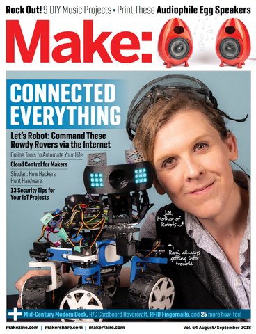 Make: Magazine, Volume 64