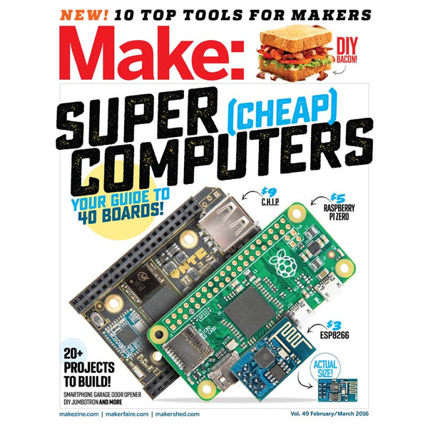 Make: Magazine Volume 49 (PDF)