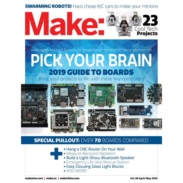 Make: Magazine, Volume 68 - PDF