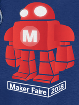 Maker Faire 2018 Event Shirt -Toddler