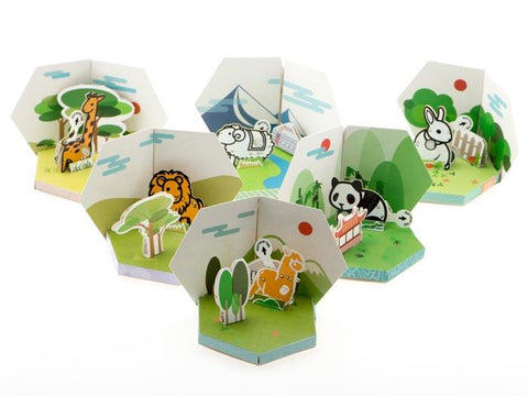 Zoo Animal 6 Pack - Learn to Solder Skill Badge