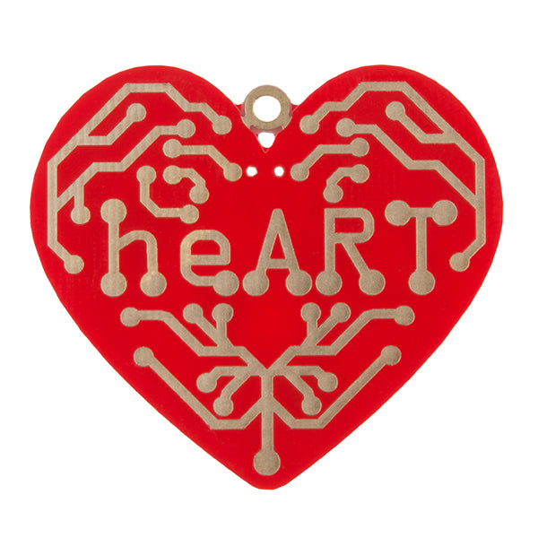 heART Surface Mount - Learn to Solder Skill Badge