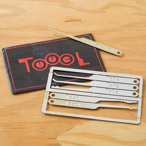Toool Emergency Lockpick Card