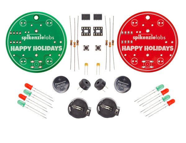 The Ornaments - Learn to Solder Kit