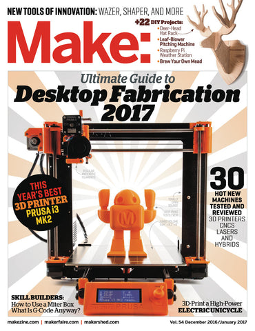 Make: Magazine, volume 54