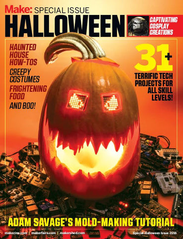 Make: Special Issue - Halloween (2016, PDF)