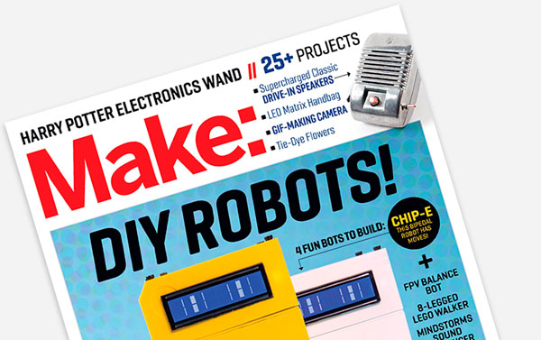 Make Magazine Volume 44 Cover