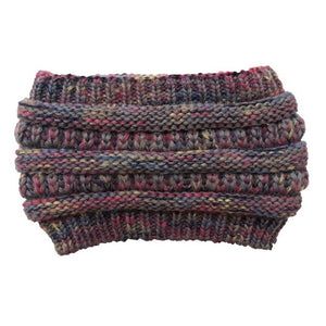 Stretchy Knitted Wool Hats - Women