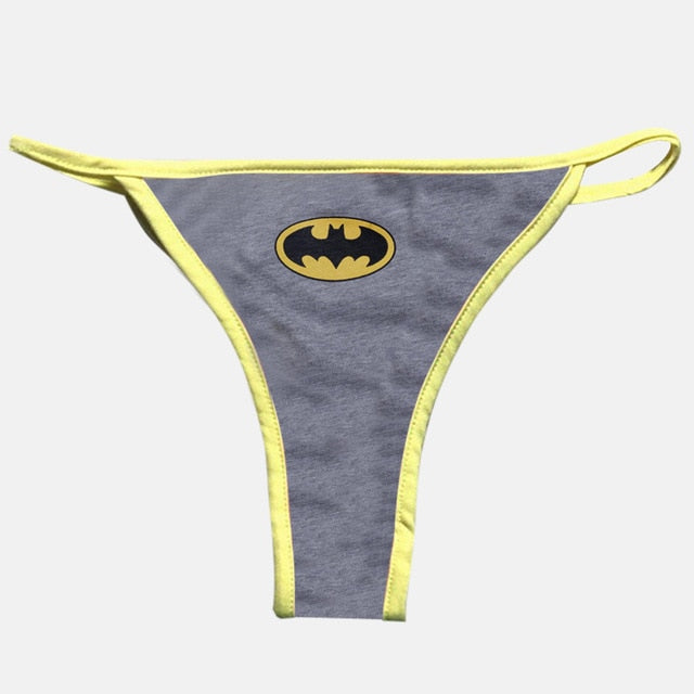 2019 Women's Lingerie Panties - Marvel + CapCom
