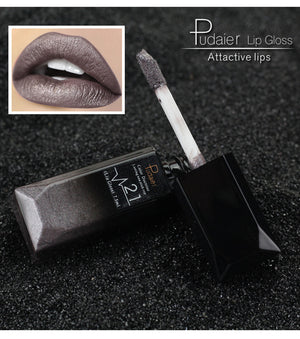 Waterproof Nude Velvet Lip Gloss - 21 Colors