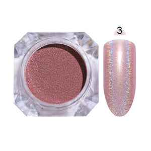 Shiny Glittering Nail Powder - Powder Set