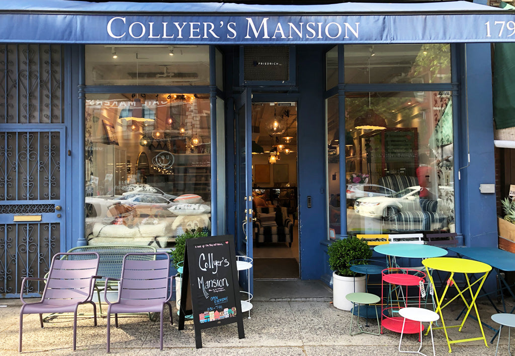 Collyer's Mansion Storefront in Brooklyn Heights
