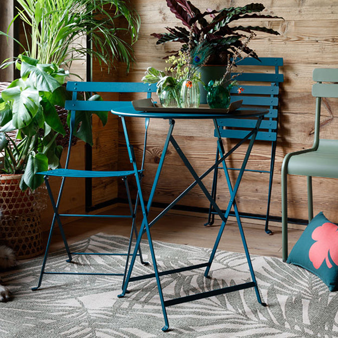 Metal Bistro Chair, set of 2