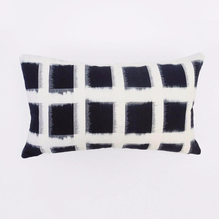 Deep Indigo Pillow, lumbar, Pillow, Collyer's Mansion, Collyer's Mansion - Collyer's Mansion