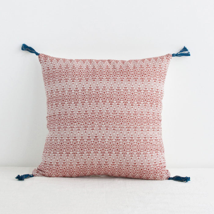 Adele Red Pillow, square