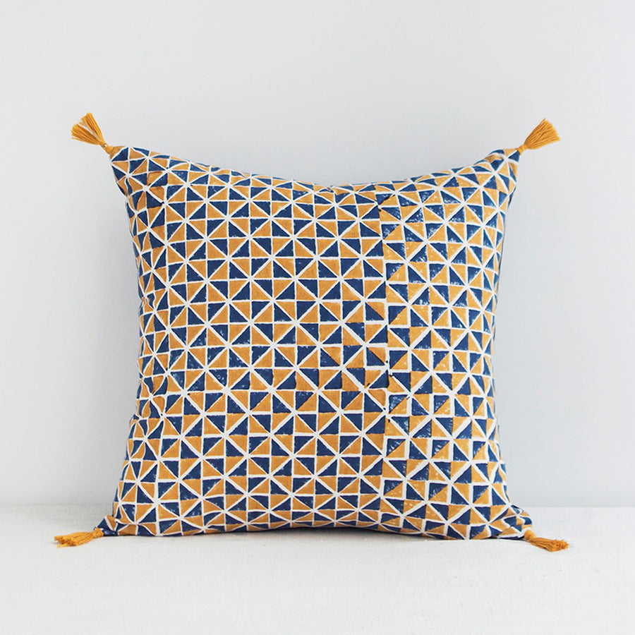 Ambre Pillow, square, Pillow, Jamini, Collyer's Mansion - Collyer's Mansion