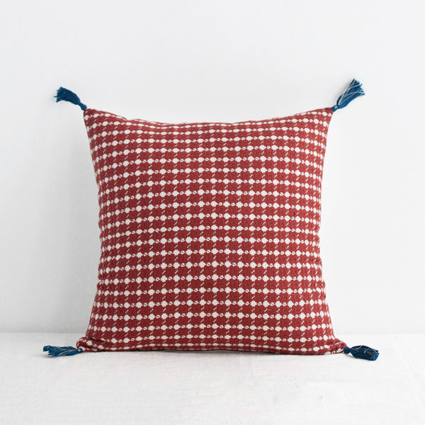 Ashima Red Pillow, square