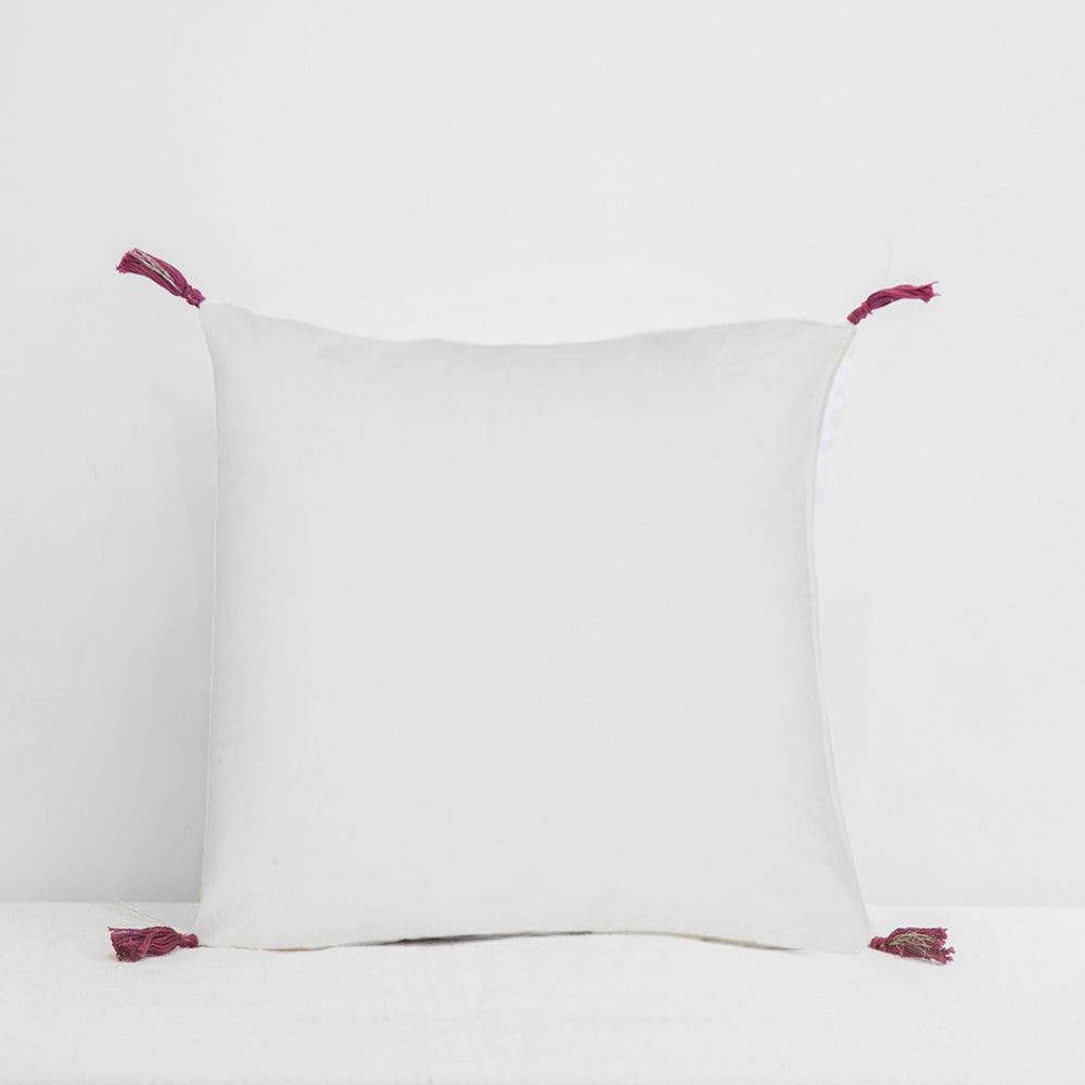 Babette Blue Pillow, square