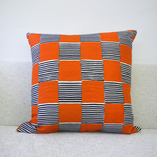 Hot Still Scape Pillow, square