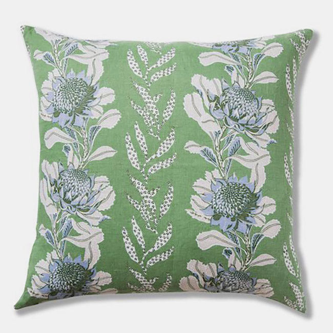 Imperial Waratah Forest Pillow, square