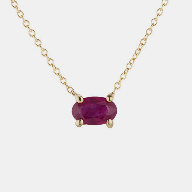 Isabella Ruby Necklace