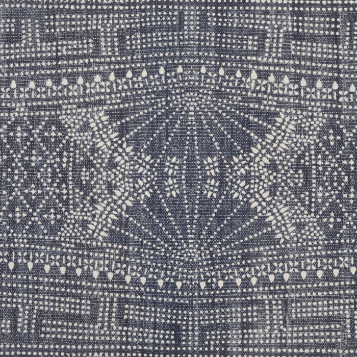 Indigo Batik Rug, 2' x 3', Rug, HomArt, Collyer's Mansion - Collyer's Mansion