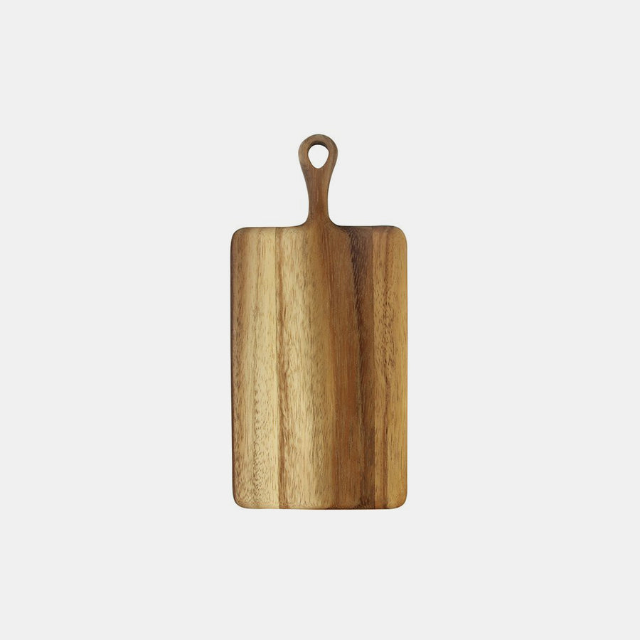 Mini Acacia Wood Board with Handle