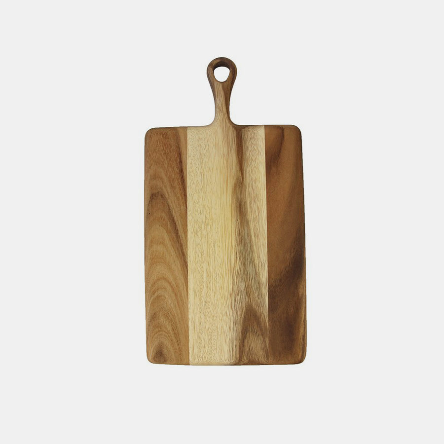 Small Acacia Wood Board with Handle