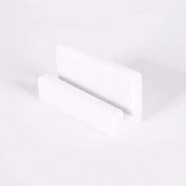 Marble Display Block, white, Stand, Yield Design, Collyer's Mansion - Collyer's Mansion