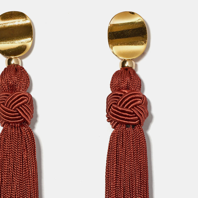 Sienna Luxe Tassel Earrings