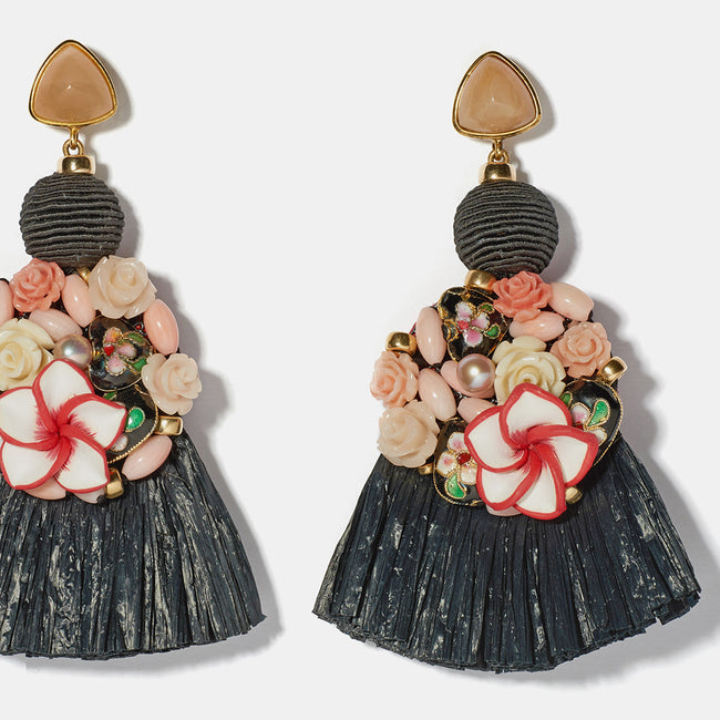 Dolce Vita Earrings, Earrings, Lizzie Fortunato, Collyer's Mansion - Collyer's Mansion