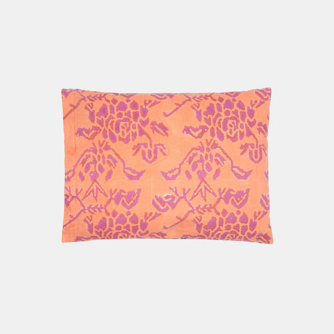 Double Peonia Peach Baby Pillow