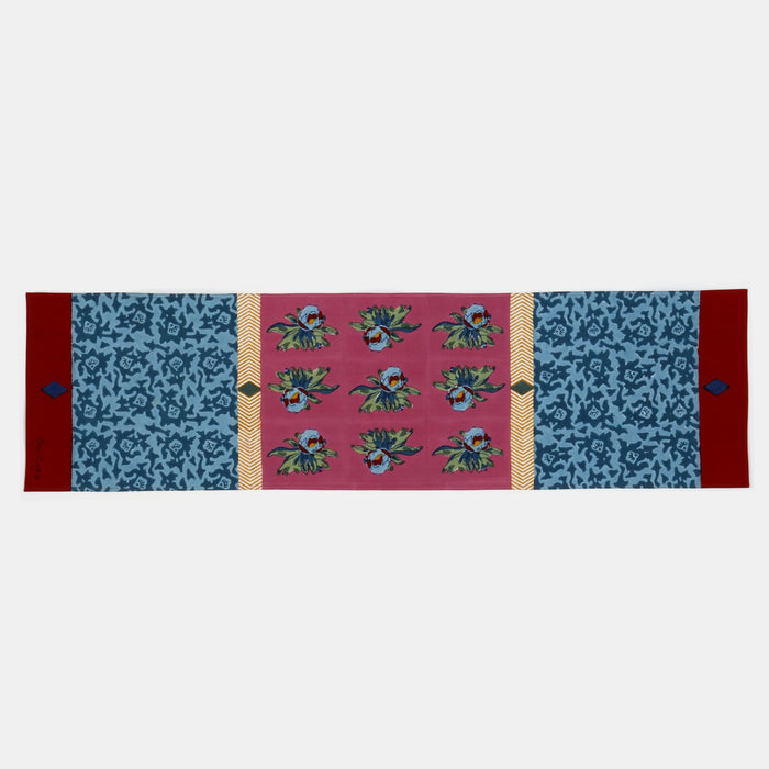 Arabesque Mauve Table Runner
