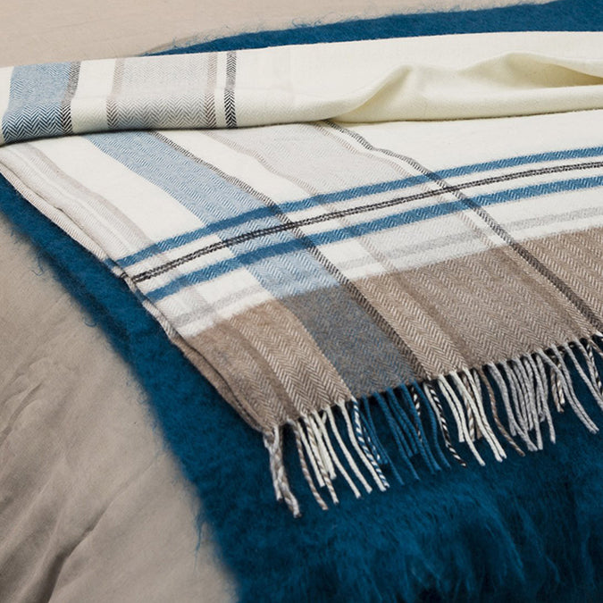 Arctic Cashmere Blend Throw