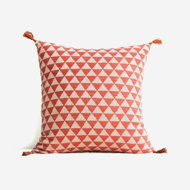 Alice Terracotta Pillow, square, Pillow, Jamini, Collyer's Mansion - Collyer's Mansion