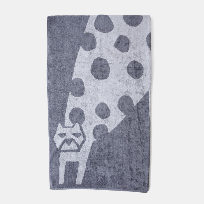 Animal Bath Towel, cat, Towel, Morihata, Collyer's Mansion - Collyer's Mansion