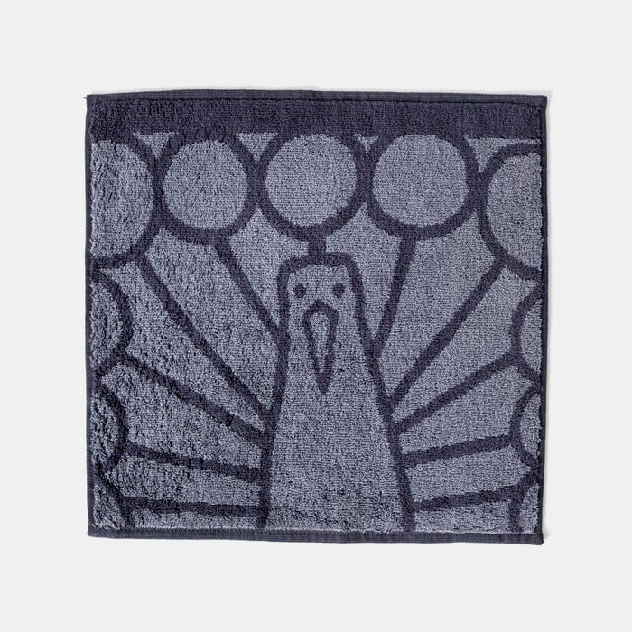 Animal Facial Towel, peacock, Towel, Morihata, Collyer's Mansion - Collyer's Mansion