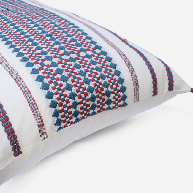 Anouk Blue Pillow, lumbar