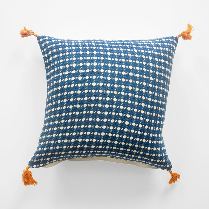 Ashima Blue Pillow, square