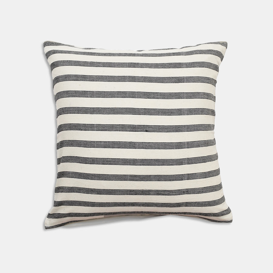 Ashoka Charcoal Pillow, square