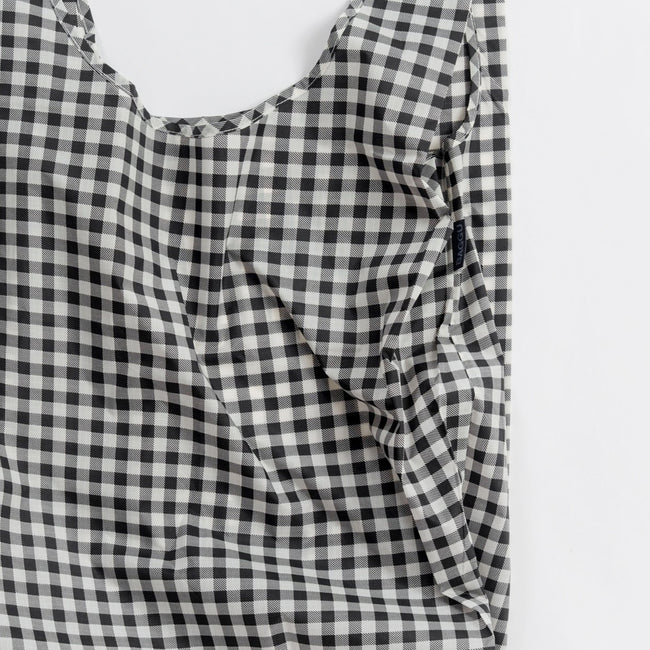 Black Gingham Big Bag